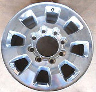 "Sell 4 HIGH POLISHED WHEELS RIMS 18"" GMC SIERRA 2500 TRUCK HD 8 X 180MM 2013 5501 motorcycle in Huntington Beach, California, US, for US $769.00"