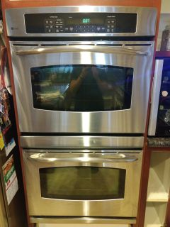 General Electric Double Oven and Microwave