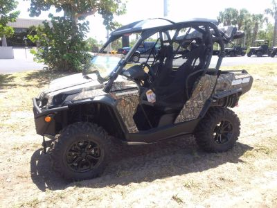 2017 Can-Am COMMANDER HUNTER EDITION Sport Side x Side ATVs Hobe Sound, FL