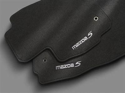 Mazda5 Carpet Floor Mats - front and second row