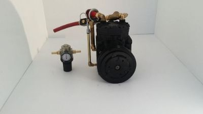 Sell VIAIR REPLACEMENT JEEP ONBOARD AIR CONVERTED YORK COMPRESSOR CUSTOM motorcycle in San Diego, California, United States, for US $285.00