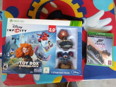 New Forza horizon 3 and Disney infinity