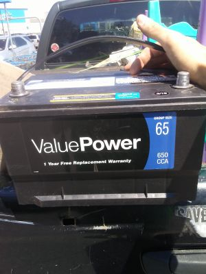 Car or Truck Battery
