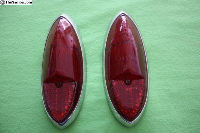 Karmann Ghia Tail-Lights Lens OG Hella, 60-69