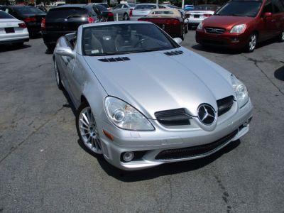 2005 Mercedes-Benz SLK-Class SLK55 AMG (Diamond Silver Metallic)