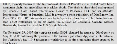 IHOP, NNN Triple Net 1031 Exchange Commercial Investment Property