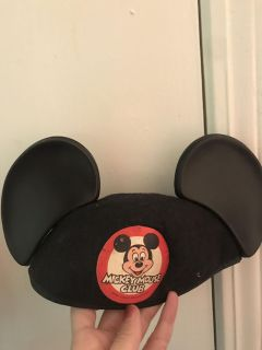 Vintage Mickey Mouse club ears