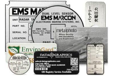 Buy Custom Aluminum Labels Printer Online