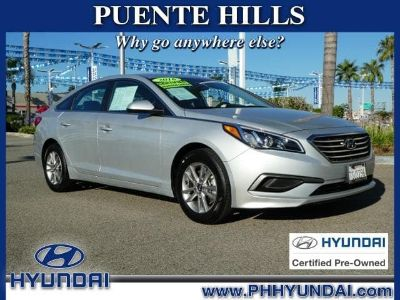 2016 Hyundai Sonata SE (Symphony Silver)