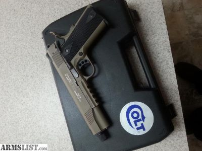 For Trade: Colt 1911 rail gun 22lr
