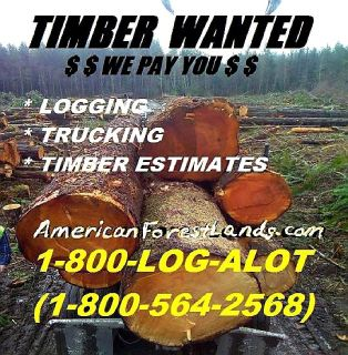 Logging Real Estate, Timber Management, Tree Clearing, Log Hauling King County Washington