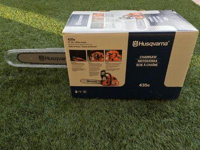 $235, Chainsaw- Husqvarna 16 inch. Brand New Still in Original Box.