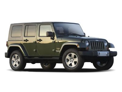 2009 Jeep Wrangler Unlimited Sahara (Deep Water Blue Pearl)