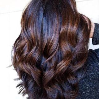Hair color and hair Highlights
