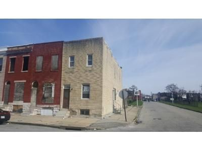 3 Bed 1 Bath Foreclosure Property in Baltimore, MD 21213 - E Lafayette Ave
