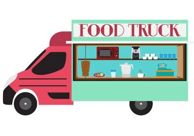 Food Truck Distribution Today 1