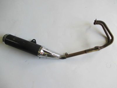 Buy 2008-2012 KAWASAKI EX 250 NINJA 250R COMPLETE OEM EXHAUST HEADER CAN PIPE motorcycle in Cedar Springs, Michigan, US, for US $169.00