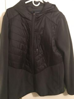 Lands End men s hooded jacket