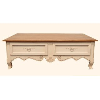 Ethan Allen Country French Coffee Table