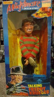 Matchbox Talking Freddy Krueger Doll (1989)