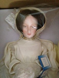 Our Lady of Lourdes Porcelain Collector Doll