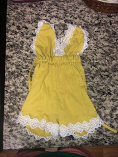 6-12 month boutique rompers like new
