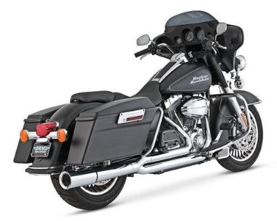 Find Vance & Hines Pro Pipe Chrome Exhaust Fits 99-08 Harley FLHR Road King motorcycle in Holland, Michigan, US, for US $621.34