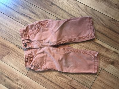 12 month rust colored pants