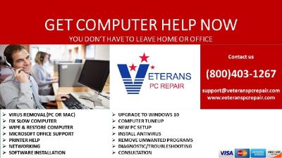 Remote Computer Repair-Virus Removal-Residential-Business-Students
