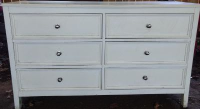 Used dresser (chipped corner could be painted)