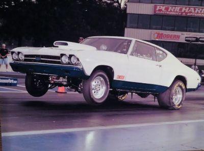 69 chevelle bracket car