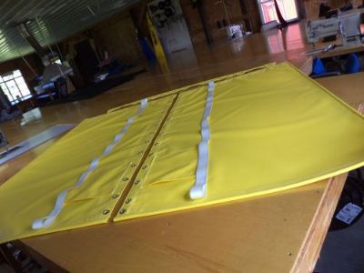 Buy Yellow Vinyl trampoline for Hobie Cat 16 motorcycle in Conneaut, Ohio, United States