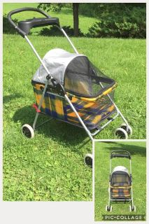 Pet Stroller, good condition **READ PICK-UP DETAILS BELOW
