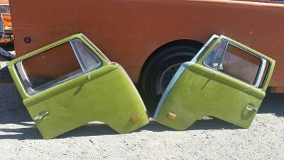 VW Bus Front door 68-79 Driver or Passenger side