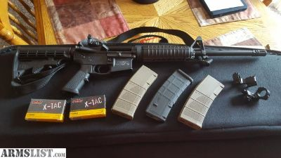 For Sale/Trade: smith and wesson M&P 556 RIFLE WITH SIGHTS