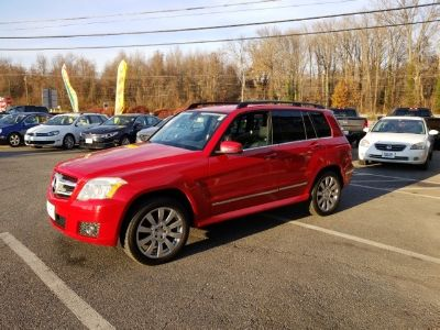 2010 Mercedes-Benz GLK-Class GLK350 (Mars Red)