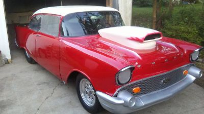 Nice 57 Chevy Drag Car (TK) or (ROLLER),