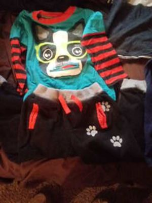 4t long sleeve and sweat pant outfit