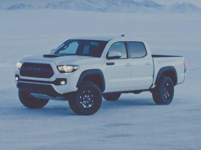 2018 Toyota Tacoma TRD Pro (Super White)