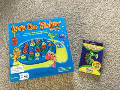 Let s Go Fishing & Go Fish Games