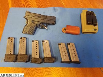 For Sale/Trade: XDS 9mm 3.3in (6mags)