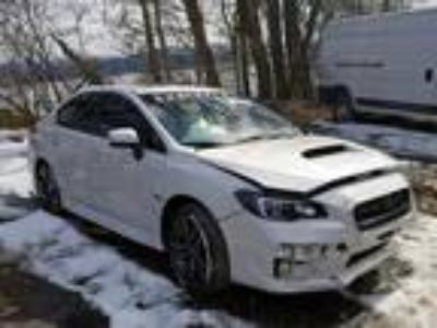Salvage 2017 SUBARU WRX PREMIUM for Sale