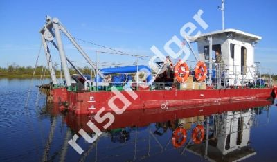 Dredger 1800  by URAL HYDROMECHANICAL PLANT, CJSC