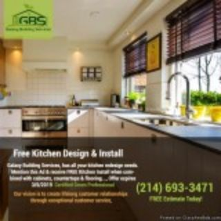Free Kitchen Design and Install