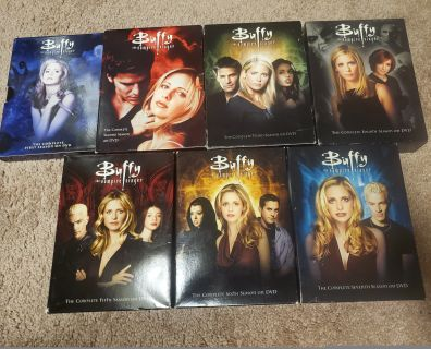 Buffy the vampire slayer complete series on dvds