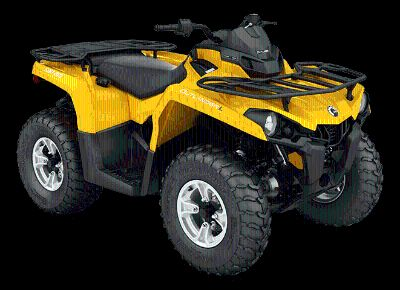 2016 Can-Am Outlander L DPS 450 Utility ATVs Massapequa, NY