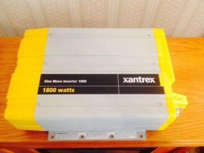 Find Xantrex Power Inverter 1800 Watt True Sine Wave Inverter, GCFI outlets motorcycle in New Washington, Ohio, United States, for US $639.00