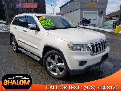 2012 Jeep Grand Cherokee Limited (Stone White)