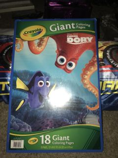 Finding Dory Giant Coloring Pages