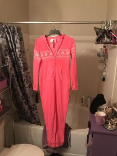 Live love dream onsie with hood new large